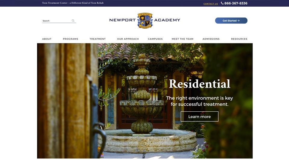netamorphosis | Newport Academy - Residential