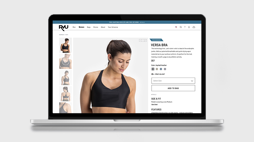 netamorphosis | RYU - Women's Product Page